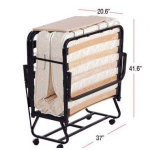 מיטה מתקפלת מזרן עבה